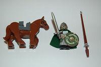 Custom Figur Für Herr Der Ringe Rohan Ritter1 Mit Pferd Aus Lego®figuren Teilen
