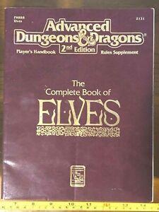 Donjons et dragons avancés D & d Le livre complet des elfes Phbr8 # 2131