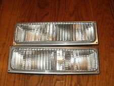 NEW GMC YUKON Parking Signal Marker Light Lights Lamps 1992 1993 FREE SHIP