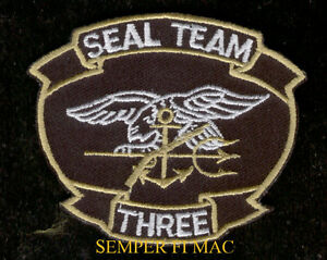 Détails : SEAL TEAM 3 HAT PATCH SNIPER US NAVY VETERAN PIN UP GIFT WOW