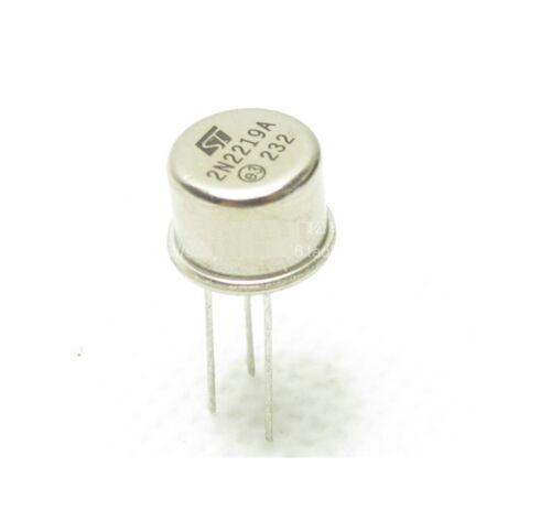 5pcs New 2N2219 2N2219A Transistors TO-39 MOT NEW L