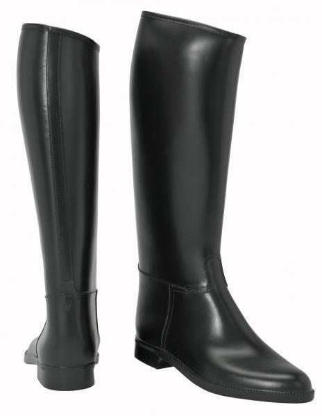 BUSSE Reitstiefel WIEN PVC Stiefel Gummireitstiefel black Synthetikfutter NEU
