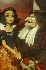 Disney Store Fairytale Designer Doll SNOW WHITE & OLD WITCH HAG LE #1620 IN HAND