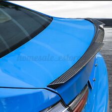 120cm Car Rear Roof Splitter Spoiler Tail Wing Protector Trunk Lip Tpu Stickers Fits 2002 Toyota Corolla