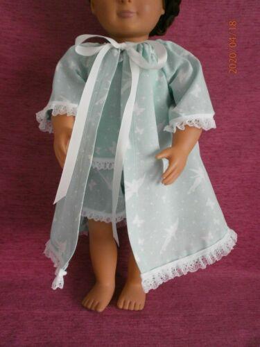 """Vestaglia-Tinkerbell Print-Fit 18/"""" la nostra generazione Bambola-handmade"""