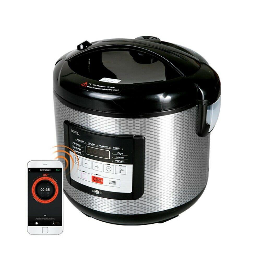 Multivarka étroites rougeMOND RMC-M224S 156 programmes de cuisson riz Pain