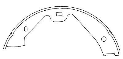 Brake Shoe 111.09870 Centric
