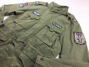 Détails sur Polo Ralph Lauren Hommes Militaire Patch M 65 Field Jacket L XL 2XL Olive Hi Tech afficher le titre d'origine