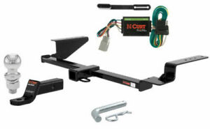 CURT Class 3 Trailer Hitch Tow Package with 2 Ball for 2007-2011 Honda CR-V
