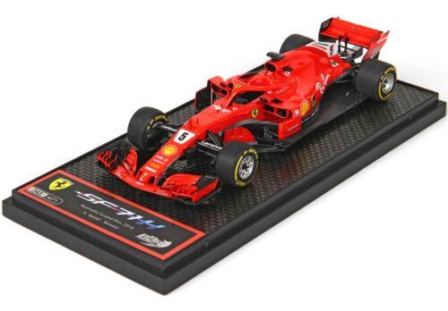 Ferrari SF71H F1 GP Australia 2018 Winner Sebastian Vettel  BBR 1:43 BBRC204A