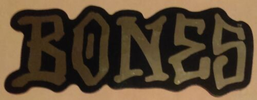 "Powell Peralta /""Bones Logo Graffiti Style /"" Large 5/"" Skateboard Sticker Gold!"
