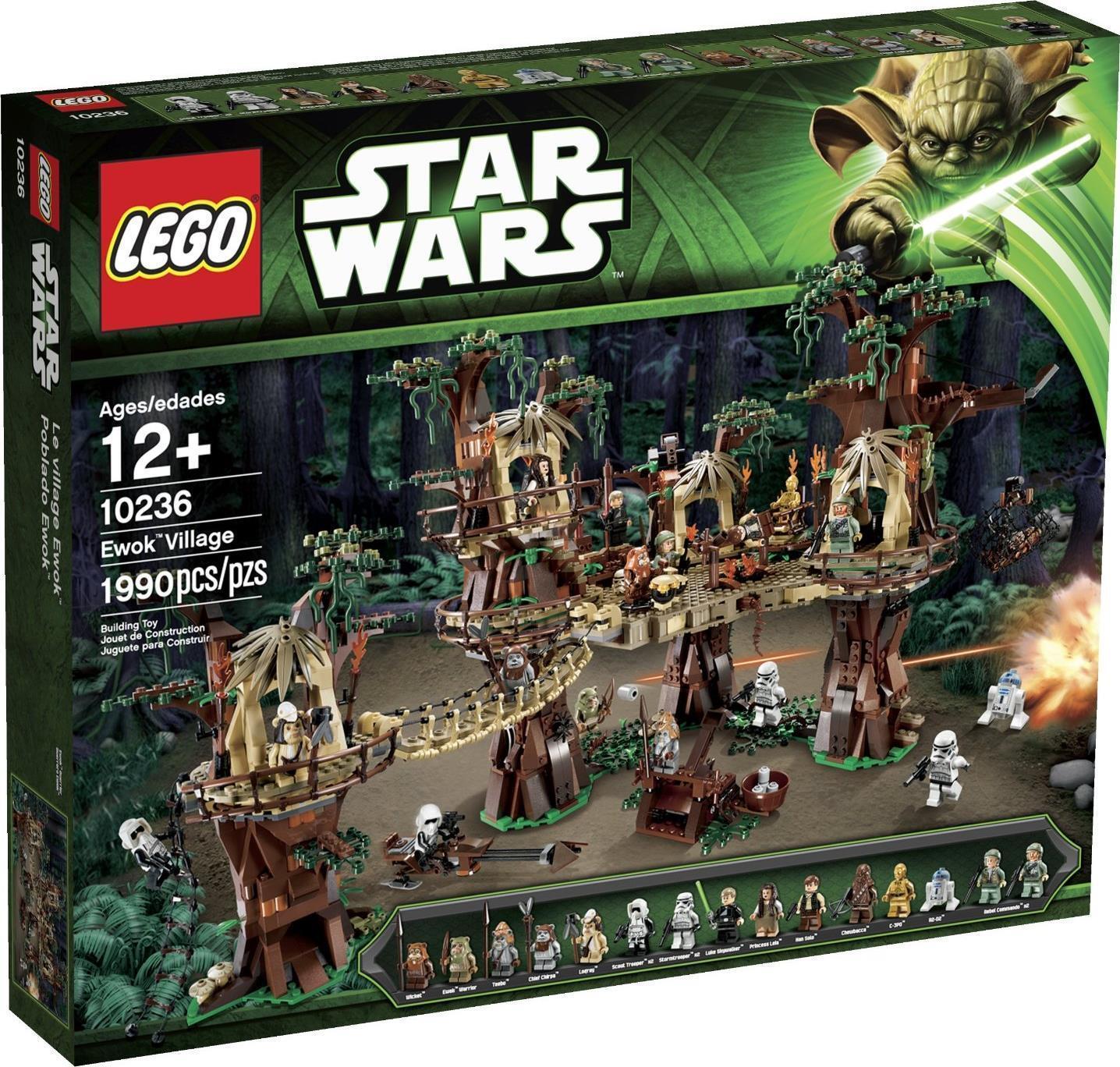 Lego Il Villaggio degli Ewok Star Wars UCS 10236 Nuovo sigillato da Collezione