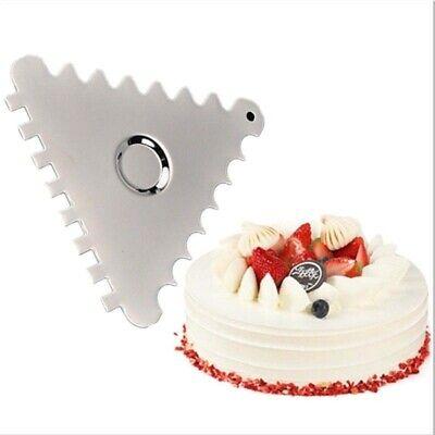 Cake Spatulas Triangle Scraper Cream Mousse Decorating Kitchen Cake Baking Tools