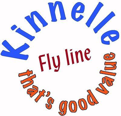 Dark Grey WF 9 S PREMIUM Sinking Kinnelle Northwestern Fly Lines