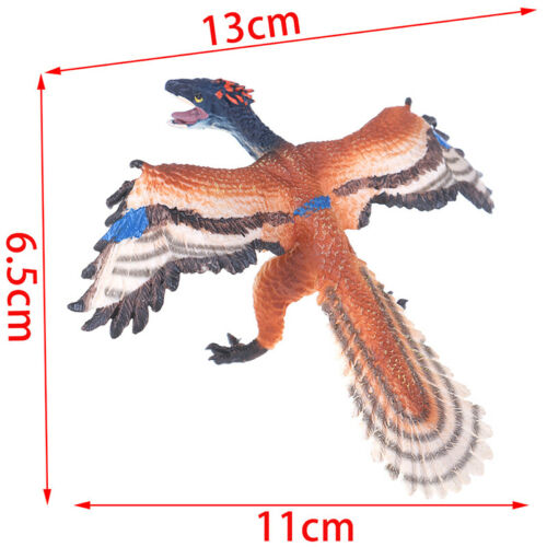Simulation Archaeopteryx Animal Model Figure Toys Home Decoration Accessories KQ