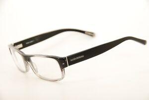 cc8052c2e859 Authentic Dolce   Gabbana DG 3104 1859 Black Clear 55mm Eyeglasses ...