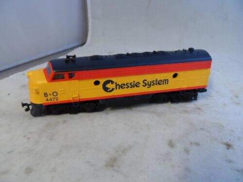 Life Like HO Scale C&O 4472 Chessie System Locomotive