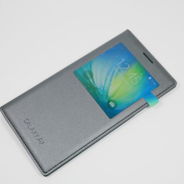 Original Libro Funda para móvil Samsung Galaxy A7 de Smartphone S VER Negro