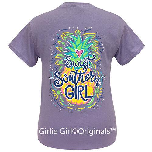 Girlie Girl Originals Tees Sweet Southern Girl Violet Short Sleeve T-Shirt - 2209