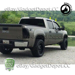 Details About For 2007 2008 2009 2010 2011 2012 2013 Gmc Sierra 1500 Acrylic Window Visors