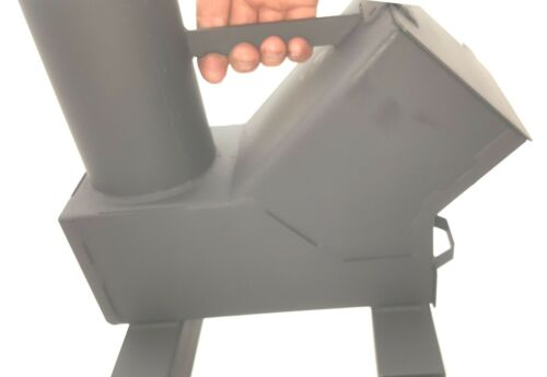 Bullet Proof Rocket Stove and Tent Heater Model 50 BMG Gravity Feed USA Made