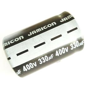 Condensatore Elettrolitico JAMICON 330uF 400V 105°C 35x46mm SNAP-IN