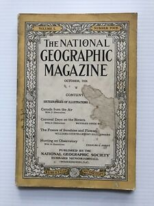 National-Geographic-Magazine-October-1926-Canada-From-The-Air