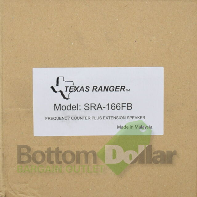 Texas Ranger SRA-166FB Frequency Counter Extension Speaker CB Radio // Amateur
