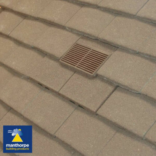 PT GRAN Granular Plain Tile Roof Tile Vents 9 Variations Manthorpe GTV