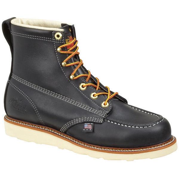 ThGoldgood 804-6201 American Heritage Wedges 6    Moc Toe Safety Toe Work Stiefel f0fa32