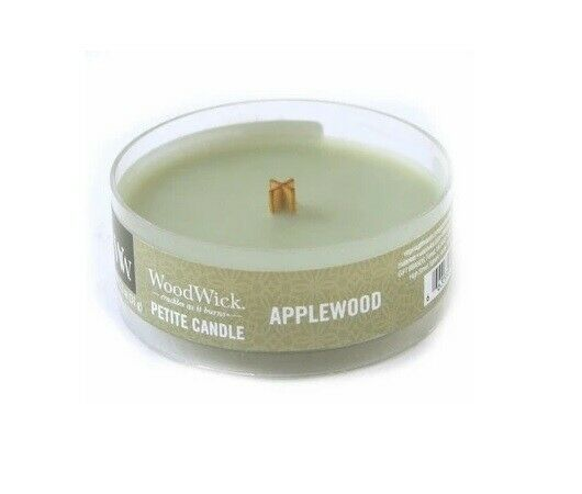 WoodWick Fireside  Petite 1.1 oz Scented Candle New Free Shipping! 3