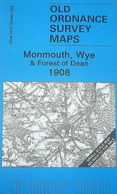 OLD ORDNANCE SURVEY MAP NW GLOUCESTERSHIRE 1896 CHELTENHAM TEWKESBURY DYMOCK