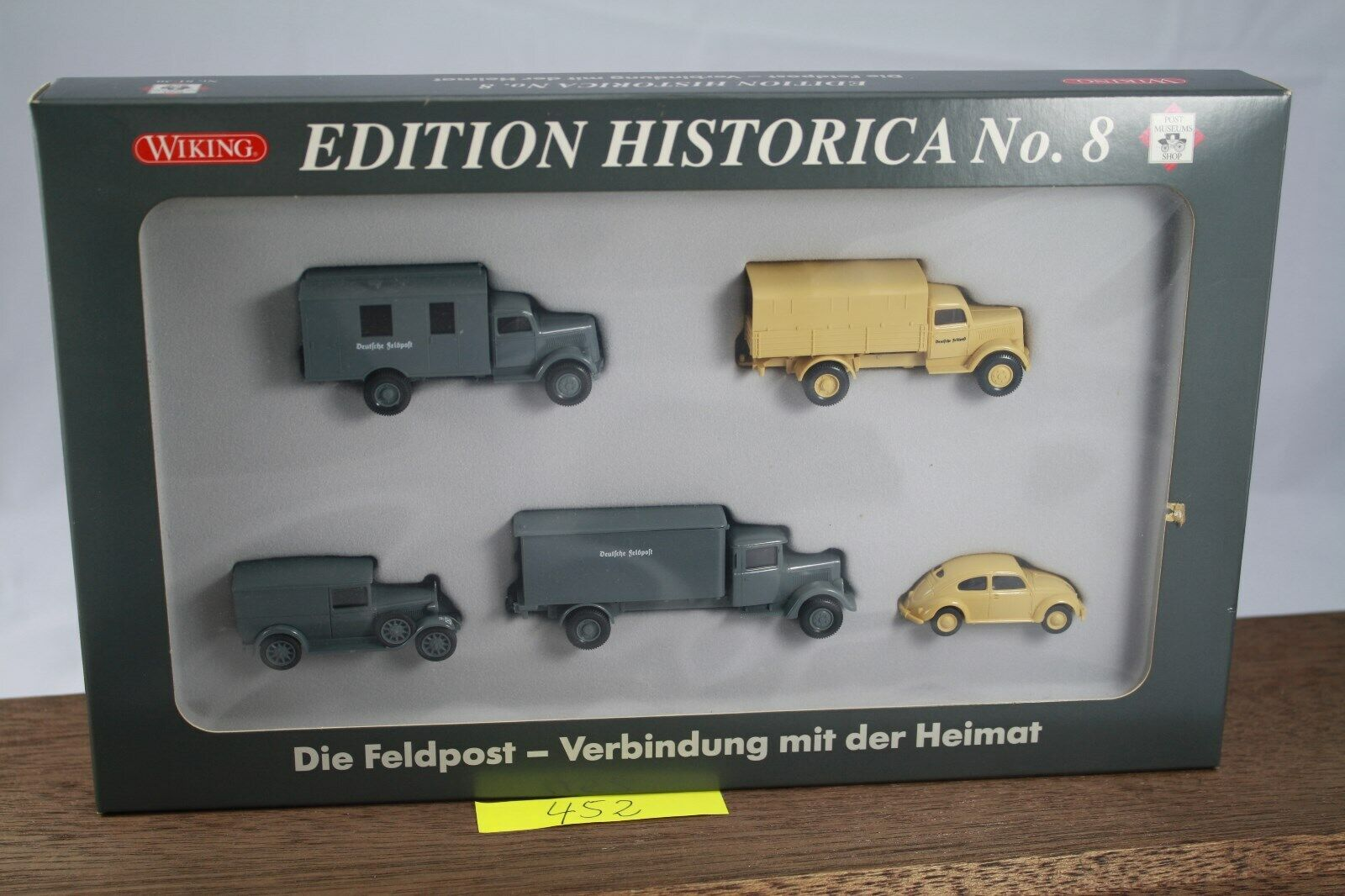 MDA Wiking set h0 PMS 81-30 Edition historica no 8 campo post embalaje original (452)
