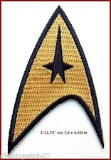 Star Trek TOS 1st and 2nd Season Starfleet Command Insignia Patch Iron on sew on