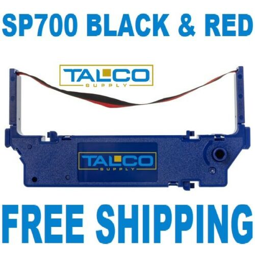 3 STAR SP 700 BLACK /& RED INK PRINTER RIBBONS  ~FREE SHIPPING~