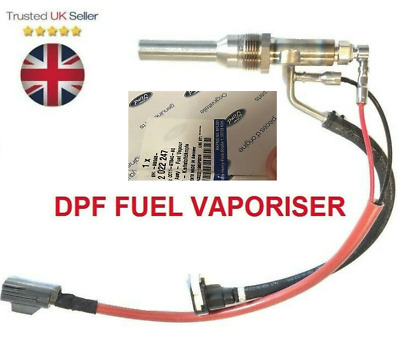 EXHAUST SENSOR DPF FUEL VAPORISER VALVE FIT FOR FORD TRANSIT TOURNEO CUSTOM 2.2