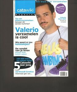 CATAWIKI-2013-1-FIRST-1st-Magazine-PROOST-PRIKKELS-Safety-Cards-STRIPS-Sneakers
