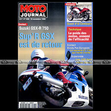 MOTO JOURNAL N°1205 YAMAHA XTZ 660 TENERE SUPERCROSS BERCY STEPHANE GALLIS 1995