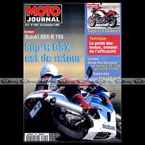 MOTO-JOURNAL-N-1205-GUZZI-V10-CENTAURO-HONDA-ST-1100-PAN-EUROPEAN-ABS-1995