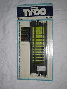 AD877 TYCO RAIL CONTROLLER 225 MM VOITURE CIRCUIT ELECTRIQUE GUIDE Ref 6711