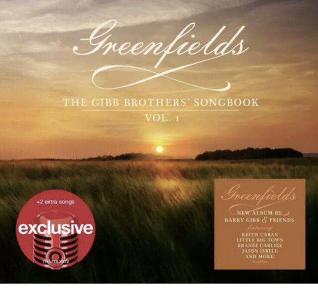 Barry Gibb Greenfields Bee Gees Songbook CD Target 2 Bonus Olivia Newton John