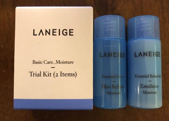 Laneige Basic Care Moisture Trial Kit 2 Items 10 Pcs For Sale Online Ebay