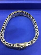 bb2dce3b0e1e6 Buy Leather and Sterling Silver Bracelet Red 8 Inches Scott Kay ...