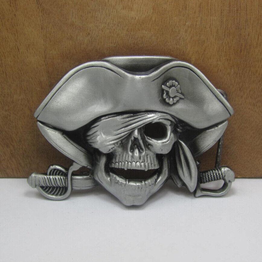 New Men's Western Motorcycle Punk Rock Cowboy Alloy Leather Belt Buckle #03488