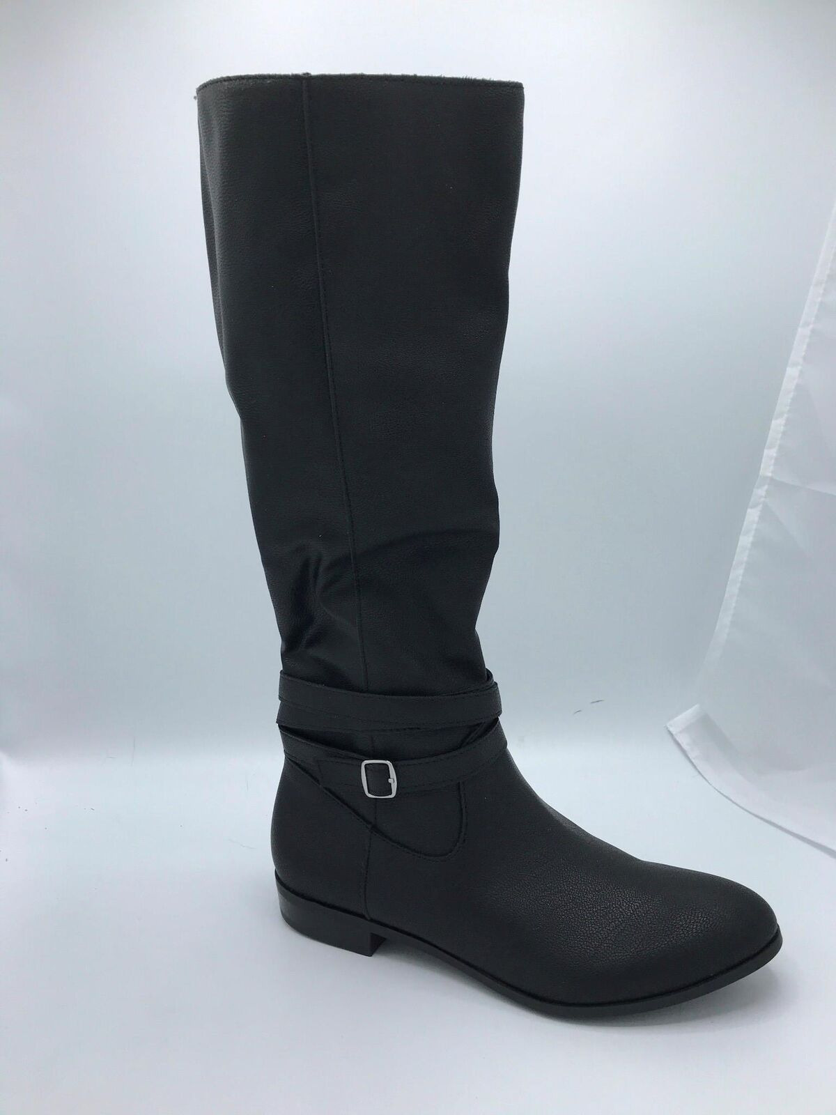Style & Co Women's Fridaa Round Toe Knee-High Boot (1822) Black Wide Calf Size 5