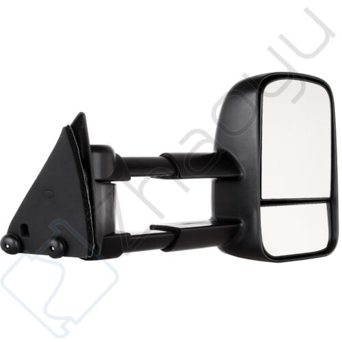 For 88-98 Chevy GMC 1500//2500//3500 Towing Mirrors Manual Side Mirror Truck Pair