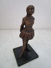 Bronze Skulptur Tänzerin Ballerina Ballett Reproduktion nach Degas 13,5cm (C470)