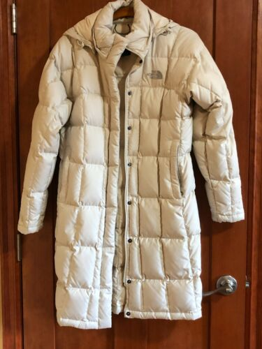 Women's The North Face Off White 600 Fill Down Hoo