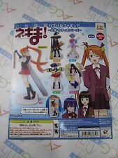 Magister Negi Magi Capsule Figure Gashapon Toy Machine Paper Card Movic Japan