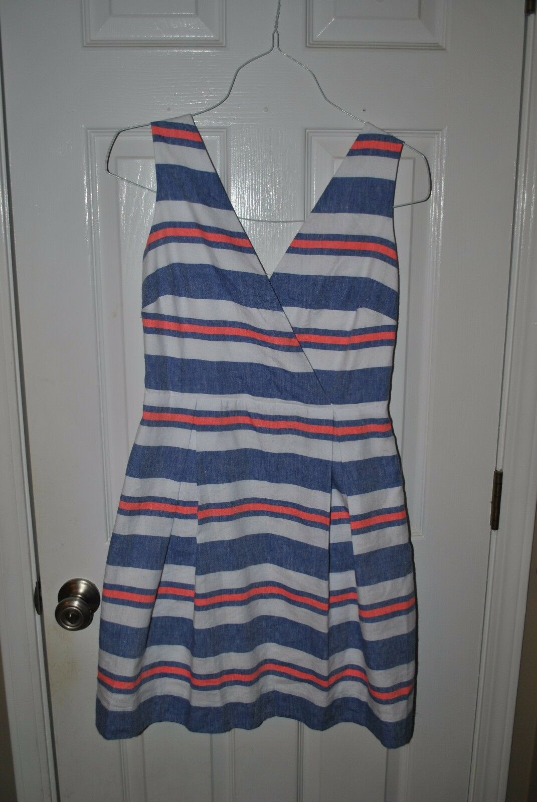 Vineyard Vines St. Jean Linen Striped Dress size 4